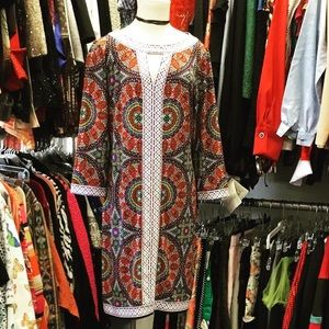 Muse psychedelic shift dress